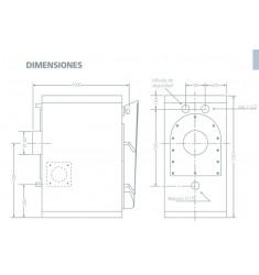 Caldera Policombustible Domusa Granada