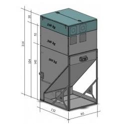 Depósito de Pellet Edilkamin 500 kg