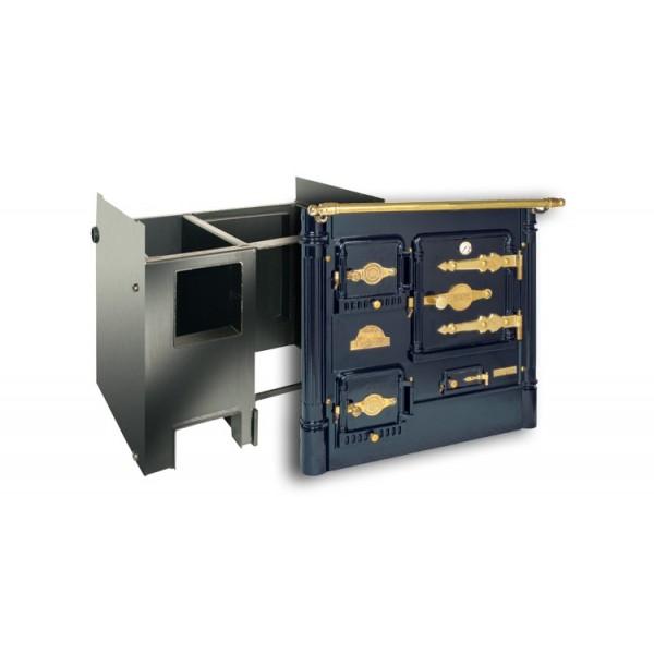 Cocina Calefactora De Le A Hergom L 07 Ca2
