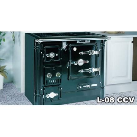 Hergom Cocinas | Comprar Cocina Calefactora De Lena Hergom L 08 Cc Dv