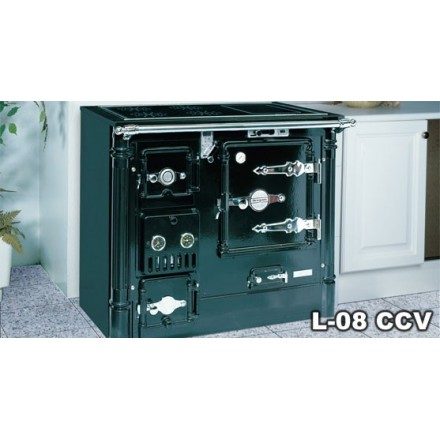 Comprar cocina calefactora de le a hergom l 08 cc dv for Cocina lena calefactora