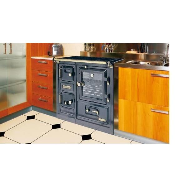 Cocina calefactora de le a hergom saja 8 for Cocinas de lena precios