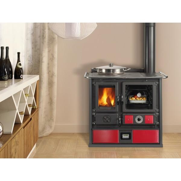Cocina calefactora de le a nordica d s a - Termocucina a pellet prezzi ...