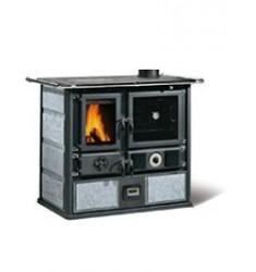 Cocina Calefactora de Leña Nordica Termorosa Ready D.S.A.