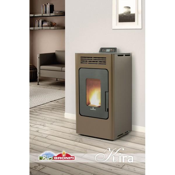 Estufa de pellet bronpi kira for Fabricantes de estufas de pellets