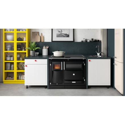 Cocina Calefactora | Calefactora De Lena Hergom Pas 8