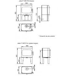 Estufa de Leña Jotul F 305 R