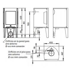 Estufa de Leña Jotul F 163