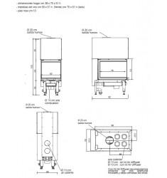 Monobloque de Leña Edilkamin Windo3 P50