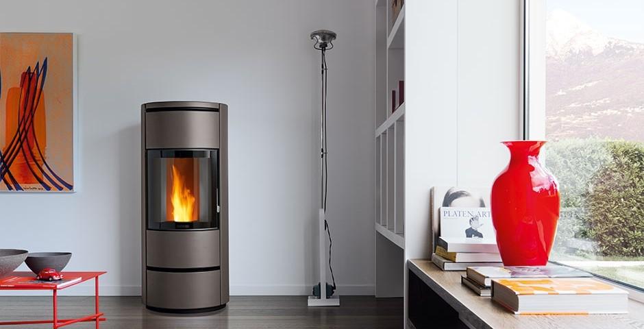 Instalar estufa pellets en piso great enlarge with for Estufa de pellets en un piso