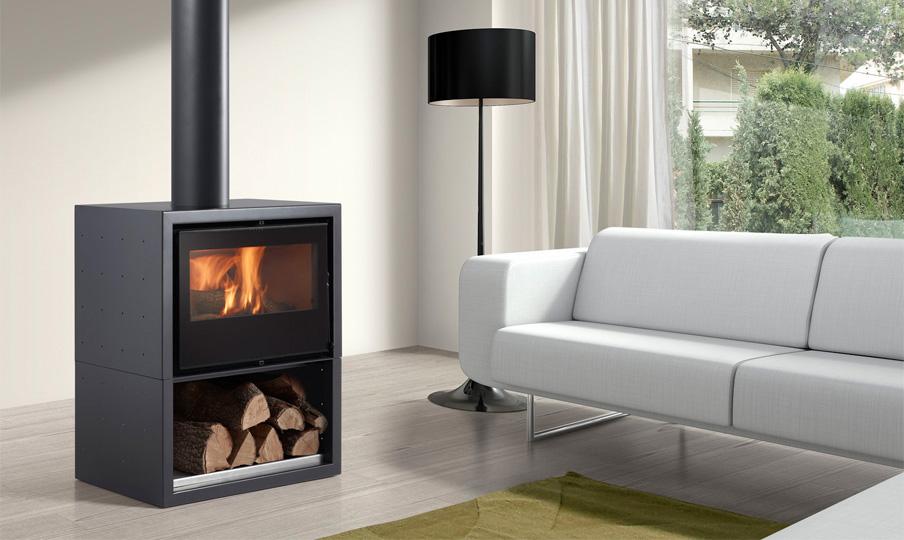 Venta de chimeneas y calderas online energy biomasa for Estufas a lena baratas
