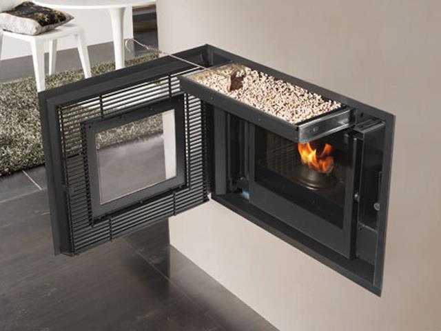 Las calderas y estufas de pellets permiten ahorrar calentar y no contamina blog energy biomasa - Que es una estufa de pellet ...