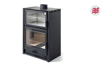 Estufas de le a con horno venta online energy biomasa for Estufa pellets con horno